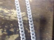 """22"""" Silver Curb Chain 925 Silver 61.1g"""